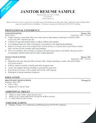 Cleaning Job Resume Best Of House Cleaning Resume Sample Resume Sample For Cleaner Commercial