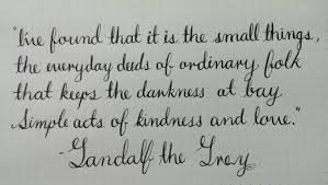 How To Write A Quote Mesmerizing A Nice Gandalf Quote And Some Flex Practice Not Perfect But Getting