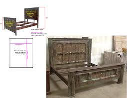 custom spanish style furniture. spanish mirror santa barbara bed custom style furniture t