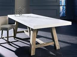 concrete top dining table. Concrete Top Dining Table Cool On Room With Regard To Outdoor Tables L