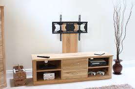 mobel solid oak console. Mobel Solid Oak Mounted Widescreen TV Cabinet Modern Design Image 4 Console