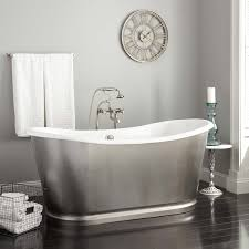 nice looking stainless steel bathtub with home depot bath tubs and freestanding tub