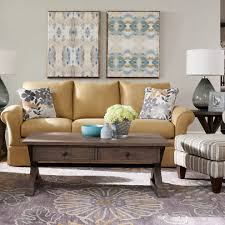 ottoman living room transitional