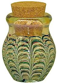 glass 3 wrapped raked color jar b0765c4kb7