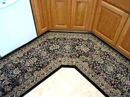 non skid runner rugs l shaped rug fabulous corner with dark beige slip stair