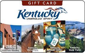 Unbridled Spirit Gift Cards | Kentucky Tourism - State of Kentucky ...