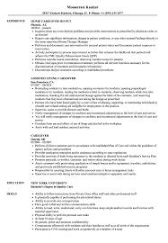 Good Caregiver Resume Sample Caregiver Resume Samples Velvet Jobs New Example sraddme 25