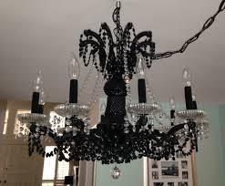 white spray painted chandelier designs
