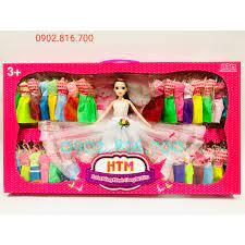 Đồ chơi mô hình búp bê xinh đẹp có khớp thay nhiều quần áo 3979 | Búp bê