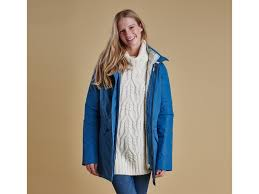 barbour female barbour winter trevo se waterproof breathable jacket women taupe fashionable