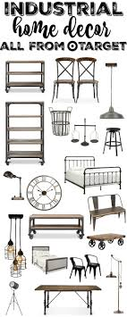 industrial home furniture. Industrial Home Decor All From Target - A Great Source For Amazing Furniture \u0026 H