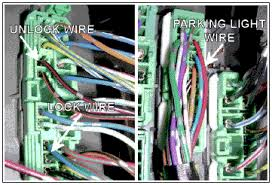 honda pilot wiring harness and wiring color code