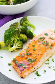 Today, all we're doing is rubbing the fillets with a little oil and sprinkling them with salt and pepper. Easy Oven Baked Salmon Recipe Healthy Dinner Recipe