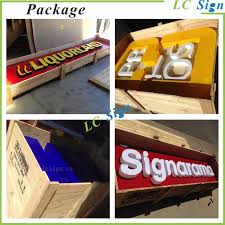 Small Picture Acrylic Push Thru Led Light Box Sign For Store Front Sign And