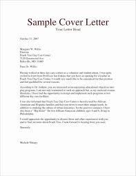 Cover Letters Example Of Letter Professional Resume Best Resumes And
