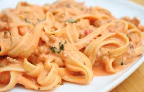tomato cream sauce italian food forever