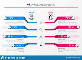 Organization Chart Infographic Design Template Vector
