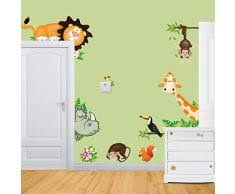 Decorazioni Per Cameretta Dei Bambini : Decorazioni parete cameretta bambini metro da lavagna