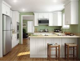 U Shaped Kitchen Floor Plans Kitchen Island In The Middle Mix Refrigerator  L Shape Island Using