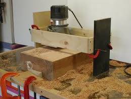 diy router jig. super simple router planing jig diy