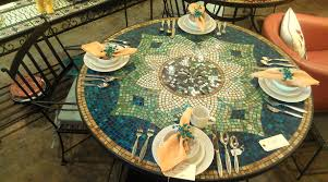 mosaic outdoor dining table outdoor mosaic table diy mosaic dining table and chairs mosaic patio table clearance