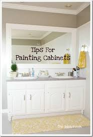 painting bathroom tips for beginners. paint your cabinets painting bathroom tips for beginners