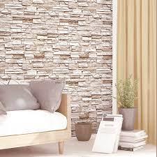 Realistic 3d Brick Design Vinyl Wall ...
