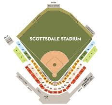 Tempe Diablo Stadium Seating Chart Arizona Diamondbacks Baseball Map Mlb Stadium Map Dbacks Az