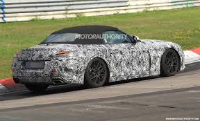 2018 bmw z4 concept. contemporary 2018 2018 bmw z4 spy shots  image via s baldaufsbmedien inside bmw z4 concept