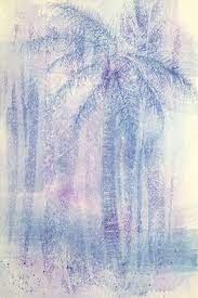 Palm Marine Painting by Shawn Glass