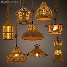 different lighting fixtures. American Vintage Different Shapes Retro Pendant Lamps Hemp Lights For Living Room Bedroom Cafe Home Lighting Fixtures