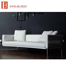 Hot Selling Woonkamer Moderne Meubels Wit Lederen Sofa Voor