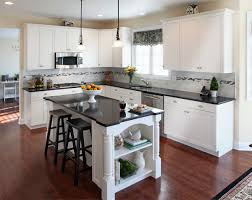 Ana White Kitchen Cabinet Country Style Kitchen With White Kitchen Cabinets And Black