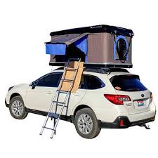 """Silverwing Clam Shell 86"""" x 51"""" Mounted Rooftop <b>2</b>-<b>person Tent</b>"""
