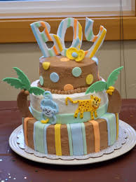 Baby Shower Cakes Jungle Theme  Party XYZBaby Shower Safari Cakes