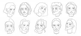Face Perspective Chart Face Vectors Photos And Psd Files Free Download