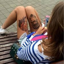 временная татуировка лиса купить в спб интернет магазин Greenorangeshop