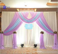 3m 3m ice silk wedding backdrop curtain with swags wedding props satin d pleated wedding stage decorations backdrops diamond wedding decorations diy