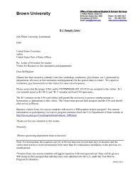 Request For Invitation Letter For Business Visa Elegant Formal