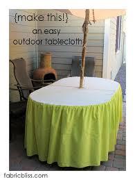 7 ways to make umbrella holes fabricbliss umbrella tablecloth