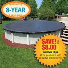 Discount 12x24 Oval Winter Cover for Above Ground Swimming Pools