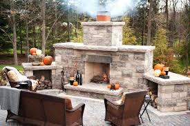 backyard fireplace kits outdoor fireplace kits outdoor fireplace kits ontario canada