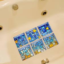 fullsize of simple tile wall wall stickers fromhome life rose petal pattern anti slip waterproof bathtub