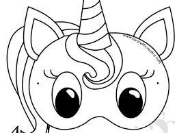 Maschera Unicorno Di Carta Per Bambini Lavoretti Creativi Part 2 Con
