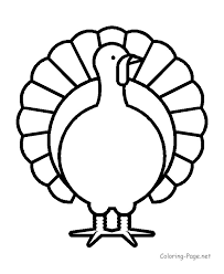 coloring turkey picture regarding turkey bird coloring pages intended for color page turkey 14 pages