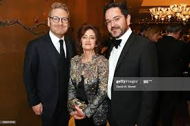 Sir Kenneth Branagh, Hilary Oliver and Ben Oliver arrive at The... News  Photo - Getty Images