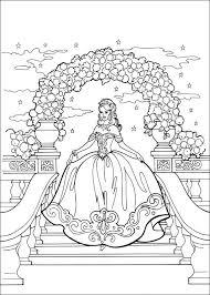 Prinses Leonora Kleurplaat Patteren Barbie Coloring Pages