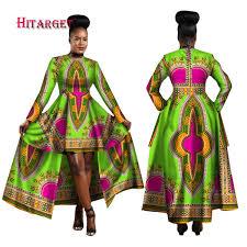 2019 <b>Hitarget 2018 African</b> Dresses For Women Dashiki Cotton Wax ...