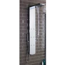 thermostatic shower panel awesome hudson reed shimmer thermostatic shower panel as345 at