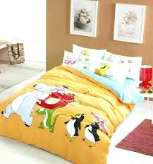 penguin bedding duvet set